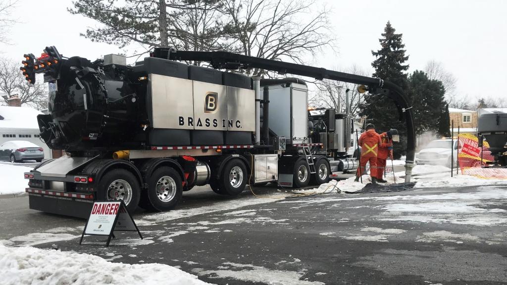 Best Hydro Excavation trailer by Supervac