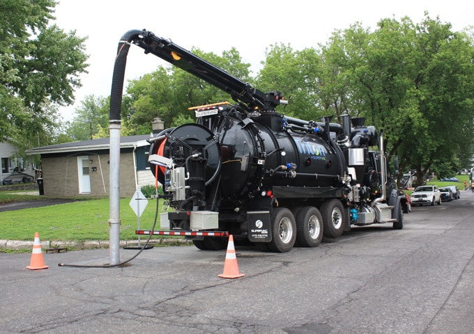 Combination Sewer Cleaner
