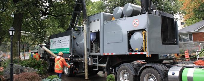 Hydro excavator