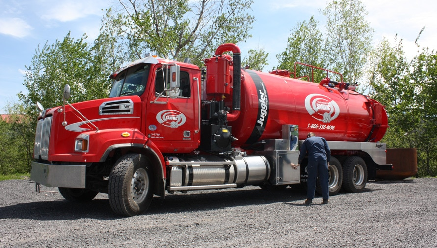 Juggler: Take the Solids, Leave the Water | Septic truck