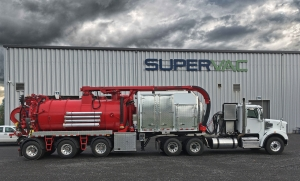 A Hydrovac Trailer tested down to -35 degrees F : Discover the Boreas made by Supervac