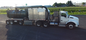 Boreas Trailer Hydroexcavator - Benefit a High Payload Capacity of 42,000 pounds