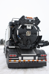 Hydrovac Truck maximising payload and efficiency - Supervac